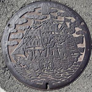 静岡県下田市のマンホール