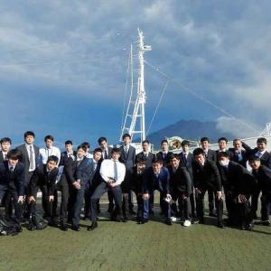 遠洋航海実習 11月24日から11月25日