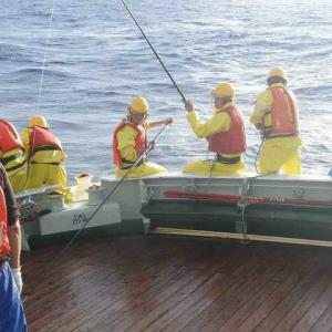 遠洋航海実習 12月4日から12月5日