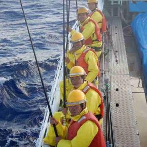 遠洋航海実習 12月6日から12月7日
