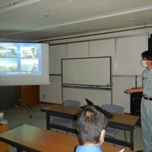 水産関係の講義「漁場の探索」