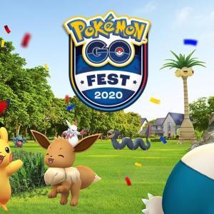 【ポケモンGO】いよいよ夏の大イベント「Pokémon GO Fest 2020」が開催!!
