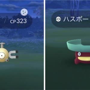 【ポケモンGO】初めて連続で色違いポケモンをGET!!