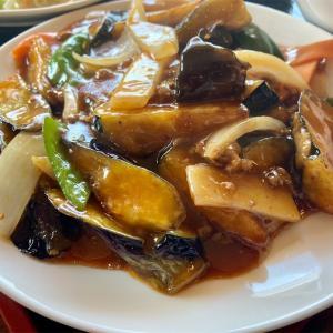 友部にある台湾料理 鑫隆の麻婆茄子ランチを食べてきた。