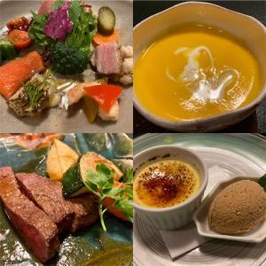 茨城町にある松庵でフレンチを食べてきました。