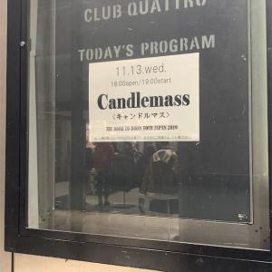 CANDLEMASS The Door to Doom Tour Japan 2019/11/13