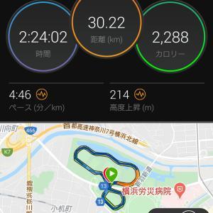 新横浜公園ランニング