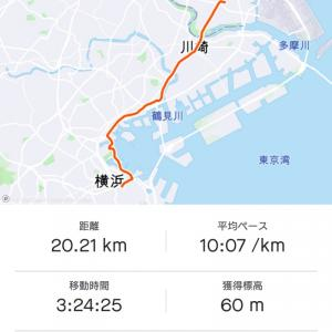 走るよりも歩いた週末