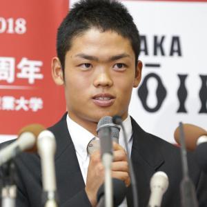 4球団競合ドラフトから1年…根尾は宮崎でマルチ安打「早いな、とは感じます…」