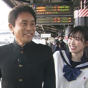 那須川天心、浜田と新喜劇楽屋でゲン担ぎ