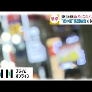 東京都で新たに47人の新型コロナ感染を確認。6月14日
