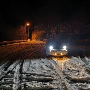 西日本各地で積雪
