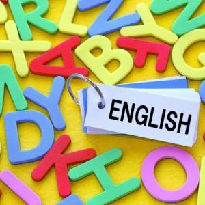 長男(小4)小学校の英語学習