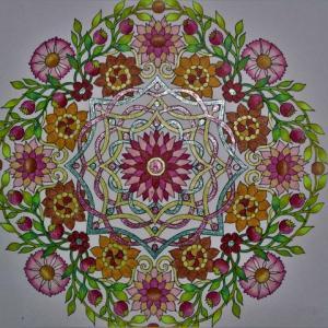 19-219 flower mandalas - 57