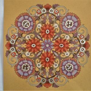 19-246 flower mandalas - 75