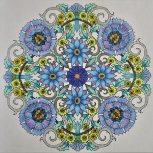 19-247 flower mandalas - 76