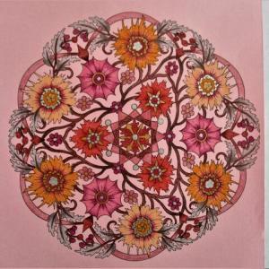 19-249 flower mandalas - 77