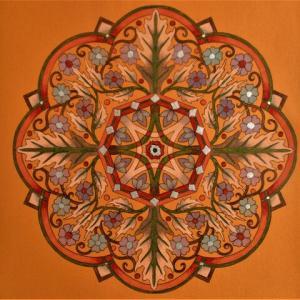 19-264 flower mandalas - 89