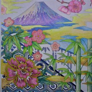 塗り絵 21-153