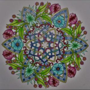 19-179 flower mandalas - 42