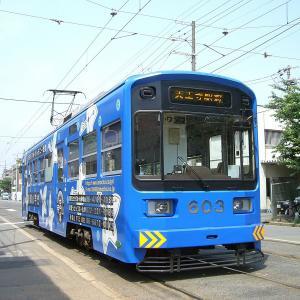 大阪にこんなレトロな路面電車が!まもなく廃止予定の駅舎など撮影