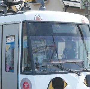 世田谷線フェス(1)猫耳追加で話題の「幸福の招き猫電車」復活!