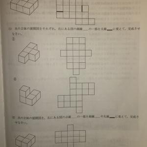 【立体・展開図】H25 栄光学園