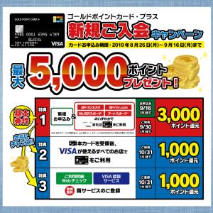 ヨドバシカメラの「GOLD POINT CARD +」カードが届いた
