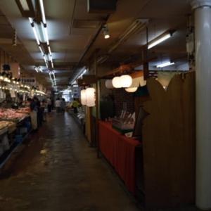 小樽南樽市場のお寿司屋さん