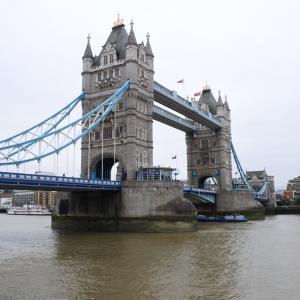 ロンドン歴史巡り14【タワーブリッジ入場、ザ・シャード展望】