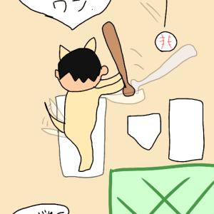 やきうとわんこ彡(^)(^)