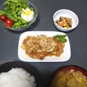 晩御飯 スタミナ炒め