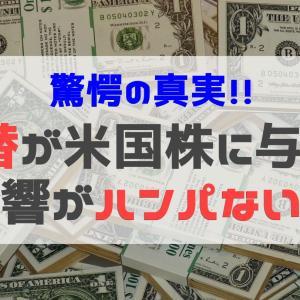 日本円と米国株は相性悪し!為替が米国株投資に与える影響がハンパない件