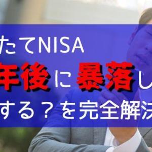 積立NISA|20年後に暴落したらどうなる?対処法を大公開!|売却タイミングの注意点|出口戦略