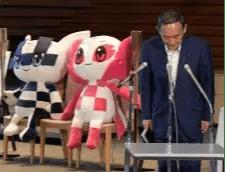 ニュース 政治 菅首相 東京五輪「人流減っている。中止しない。テレビ観戦を」