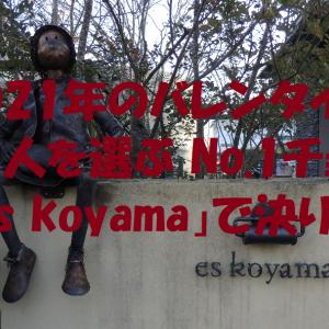 2021年のバレンタインは 人を選ぶ No.1チョコ「es koyama」で決り!
