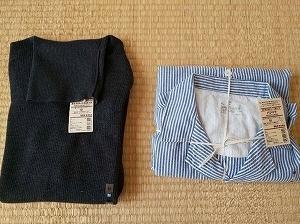 【無印良品週間】夫の衣類、買い替えと買い足し。