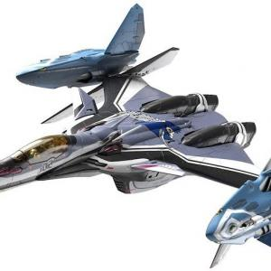 【マクロスΔ】1/72スケールVF-31F ジークフリード/リル・ドラケン装備(ハヤテ・インメルマン搭乗機)が2021年3月発売