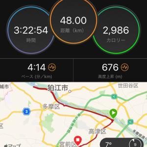 【勝田26日前】多摩川petaマラソン