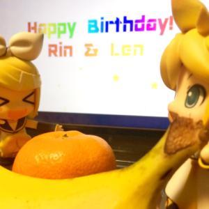 リンレン誕生日&マジミラDVD届きました