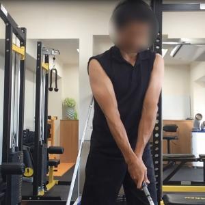 ゴルフの捻転差と筋力