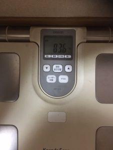 2019年5月9日 体重報告