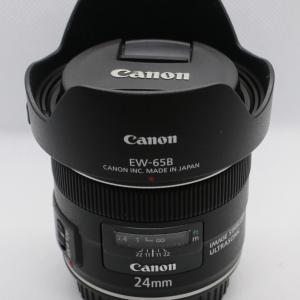 キヤノン交換レンズ「EF24mm F2.8 IS USM」を買いました【開封】