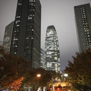 Canon EOS 5D MarkII + EF24mm F2.8 IS USMで西新宿の超高層ビルを撮りました(2019年11月)