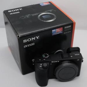 デジタル一眼カメラ Sony α6500 を買いました【開封】