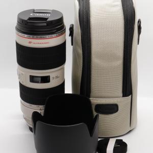 キヤノン交換レンズ「EF70-200mm F2.8L IS II USM」を買いました【開封】