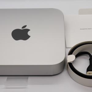 AppleシリコンM1チップ搭載の Mac mini(Late 2020)を買いました