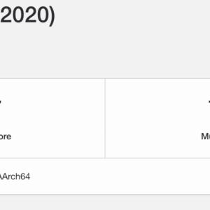 M1チップ搭載 Mac mini(Late 2020)のベンチマークを測定しました(Geekbench 5)