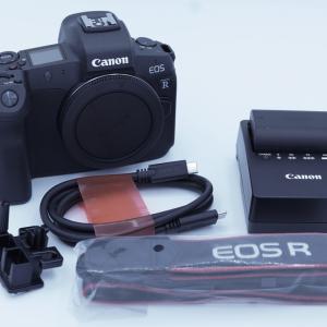 ミラーレス一眼カメラ Canon EOS R を買いました【開封】