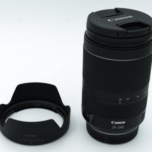 キヤノン交換レンズ「RF24-240mm F4-6.3 IS USM」を買いました【開封】